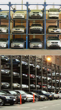 Carousel parking systems